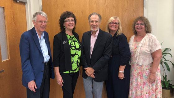 Michael Britton, Cheryl Mojta, Phil Brown, Jeannette Collins and Dodi Schultz